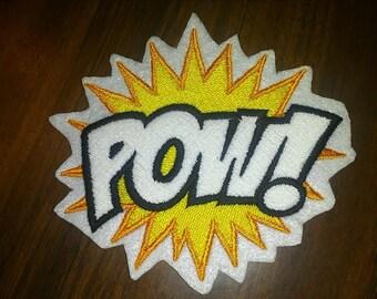 POW Patch,comic,super hero