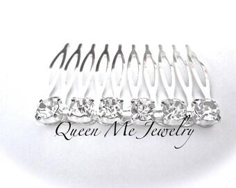 Bridal hair comb ~ Rhinestone hair accessories ~ Wedding hair piece ~ Crystal hair comb ~ Brides hair comb ~ Bridesmaids ~ Prom ~ SOPHIA