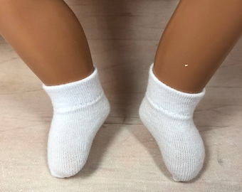 """Choice of Ankle Socks for 12"""" Baby Sasha: 30 colors available!"""