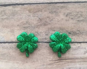 Shamrock Stud Earrings Gifts for Her Statement Earrings Gifts for Girls Small Stud Earrings Clover Earrings Earring Sale Post Earrings
