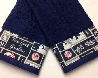 MLB New York Yankees Hand Towel Set / Guest Towel Set