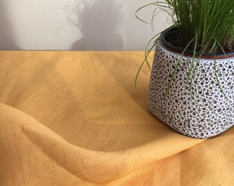 Yellow Linen Table Cloth, Sunny Linen Tablecloth Rectangle, Tablecloth Square, Tablecloth linen, Custom Tablecloth, Summer Tablecloth
