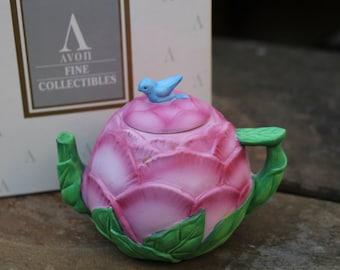 "Avon Teapot Collection ""Peony"""