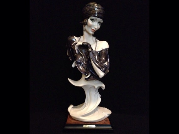 """FREE SHIPPING-Fabulous-Made In Italy-Giuseppe Armani-1989-Signed-13 3/4""""-522-C-Temptation-Sculpture"""