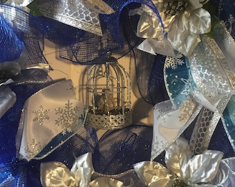 A Blue and Silver Christmas