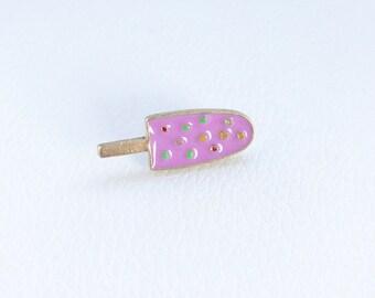Purple Ice Cream mini pin