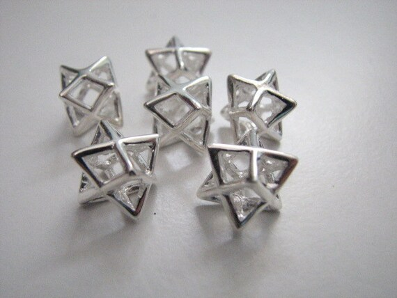 6 pieces original merkaba charms 925 sterling silver wholesale 6 pieces original merkaba charms 925 sterling silver wholesale pendants charm pendant for jewelry making wholesale lot from universalage on etsy studio aloadofball Gallery