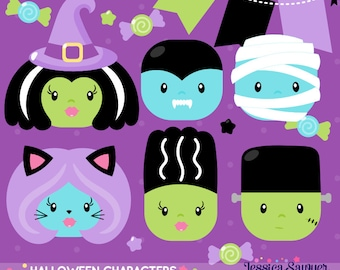 INSTANT DOWNLOAD - Halloween Costume Clipart for personal and commercial use