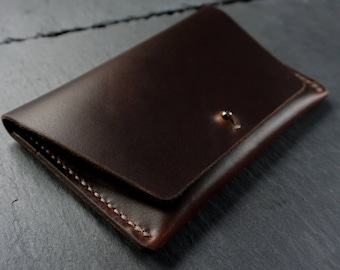 Passport Holder, Horween Leather Passport Wallet