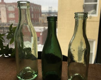 3 late 1940s to early 50s wine samplers