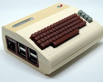 Commodore 64 Raspberry Pi Case (with working power LED)