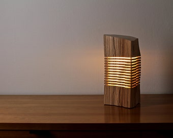 Light Sculpture Reclaimed Wood Art