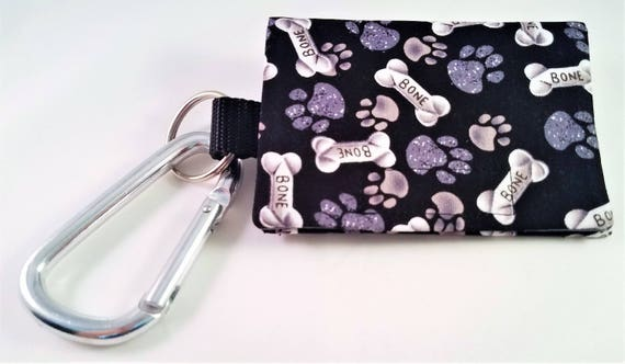 Bag Buddy - Poop Bag Holder / Dog Poop / Dog Mess Bag Carrier / Pet Waste / Pet Mess / Leash Purse / Poo Bags