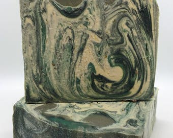 Rosemary Mint-Handmade Artisan Goats Milk Soap-Cold Process Soap