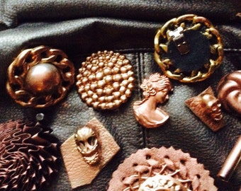 End lot of workshop 25 items style steampunk
