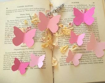 Butterfly Die Cuts,Blush Pink Butterfly die cuts,Pink Butterfly diecuts,Wedding Decor,Paper butterflies,Spring decor,Pink paper butterflies