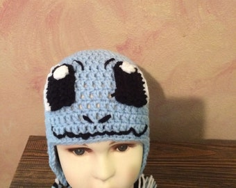 Squirtle Earflap Hat