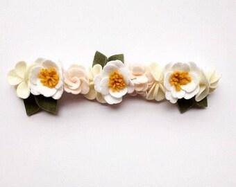 Peony Felt Flower Crown   Peony Felt Flower Headband