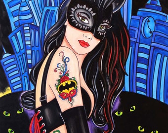 Cat Woman by Melody Smith