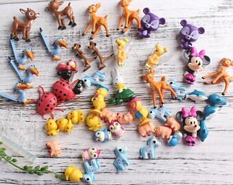 Forest Series Miniature Ornaments,Miniature Garden,DIY Kit, Fairy Garden,Forest Decor,Flowerpot Art,Terrarium Kit,Micro Animals DIY,Animals