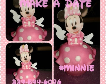 Minnie Mouse Candy Apple Mickey