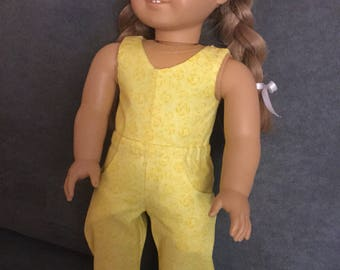 1 piece jumpsuit for 18 inch dolls
