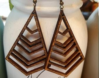 Birch Jewel Earrings - 1 pair