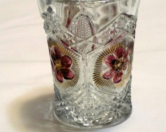 Vintage Lead Glass Tumbler