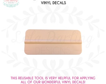 Squeegee High Quality Reusable Vinyl Application Squeegee