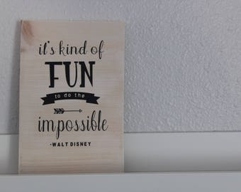 Fun Quote Decor