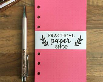 Pocket Size Filofax/Kikki K/Rings Planner Paper