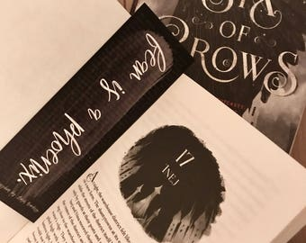 Fear is a Phoenix (Six of Crows) Bookmark
