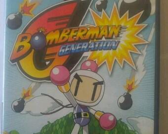 Bomberman generatión (nintendo gamecube 2002) complete