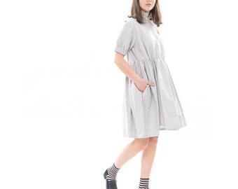 Brooklyn dress, Gray dress