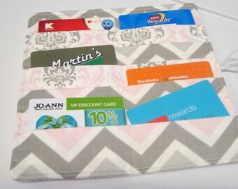 12 Card Loyalty Card Organizer, Business Card Holder , Credit Card Wallet