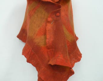 Hot Orange Wrap