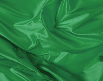 "54"" Wide 100% Silk Taffeta Green by the yard (9000MT31)"