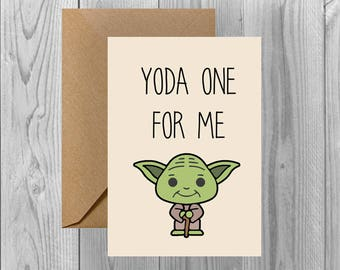 Valentines/Just Because | Yoda One For Me