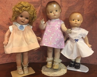 Vintage Doll Clothes 1930s