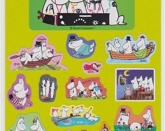 Moomin Stickers - Reference A3539A3690-91A6560