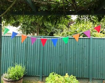 Waterproof outdoor outside bunting garden party wedding garland