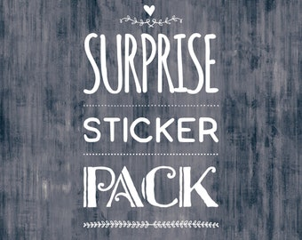 SURPRISE Pack of stickers - Sticker lot