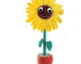 Amigurumi Flower Tutorial : African flower granny free crochet pattern craft passion