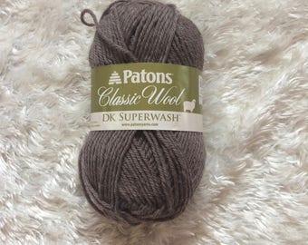Patons Classic Wool DK Superwash HEATH HEATHER - 100% wool