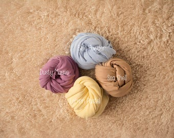 Ready to Ship! Jersey Knit Wraps, DELUXE size, Newborn Wrap