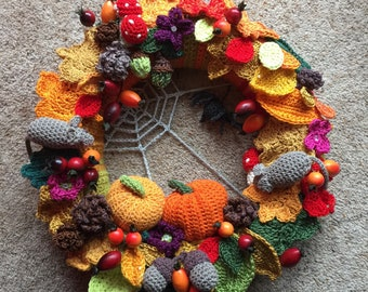 Autumn Themed Wreath