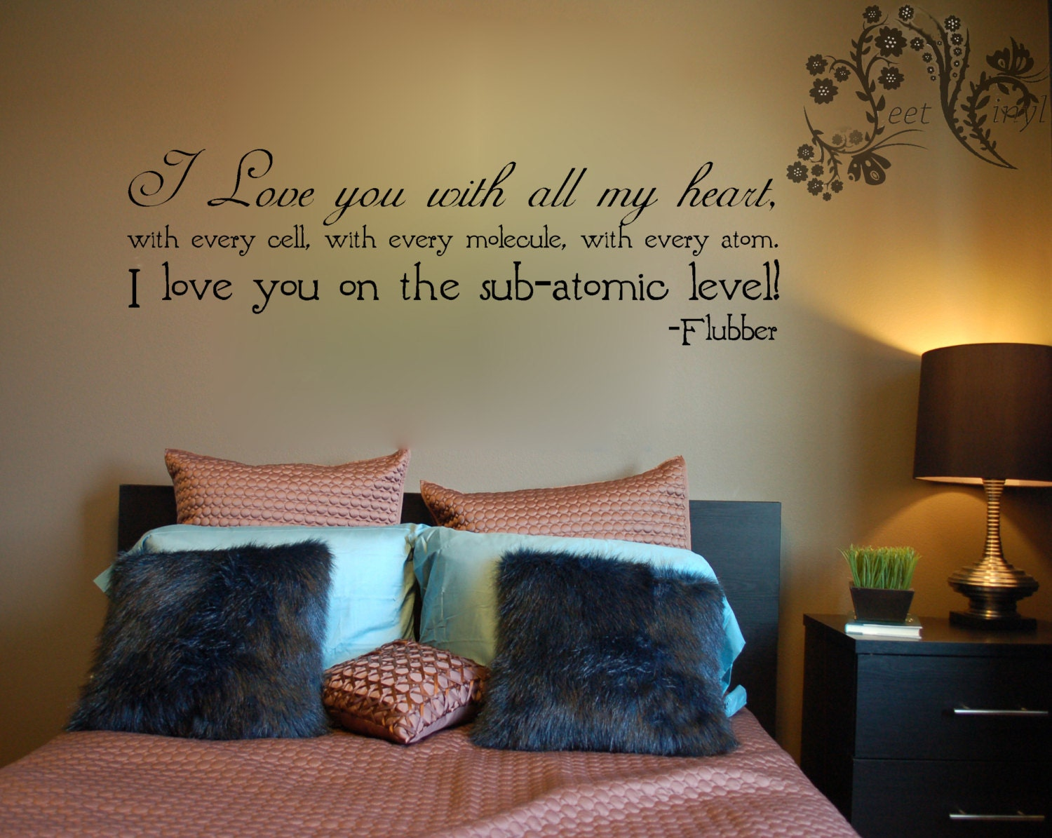 I Love You With All My Heart Vinyl Decal Wall Vinyl - Vinyl decals for the wall