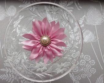 Taffeta Flower Headband for Women and Girls
