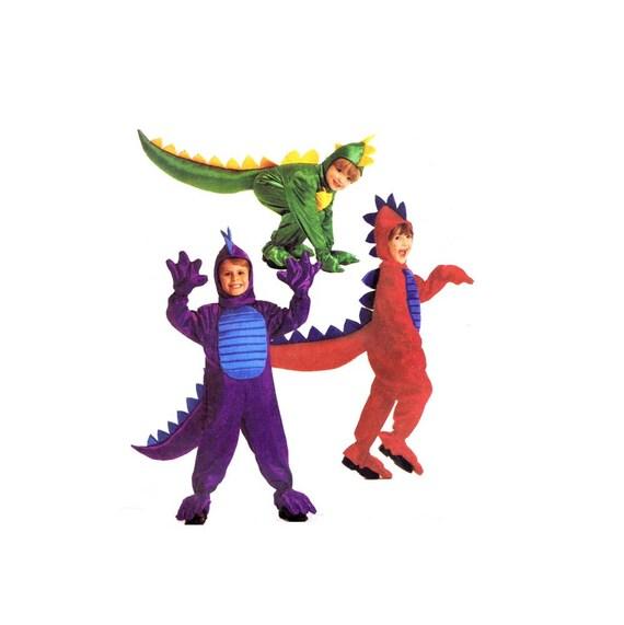 Jungen Mädchen Drachen Kostüm nähen Halloween Kleinkinder