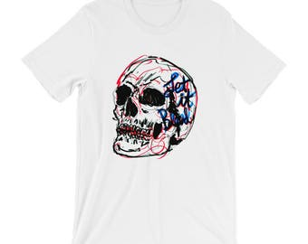 Contemporary Pop Art Shirt for Skull Lovers  |  Let it Bleed Tshirt
